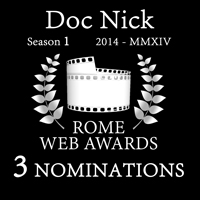 3 nominations at Rome Web Awards